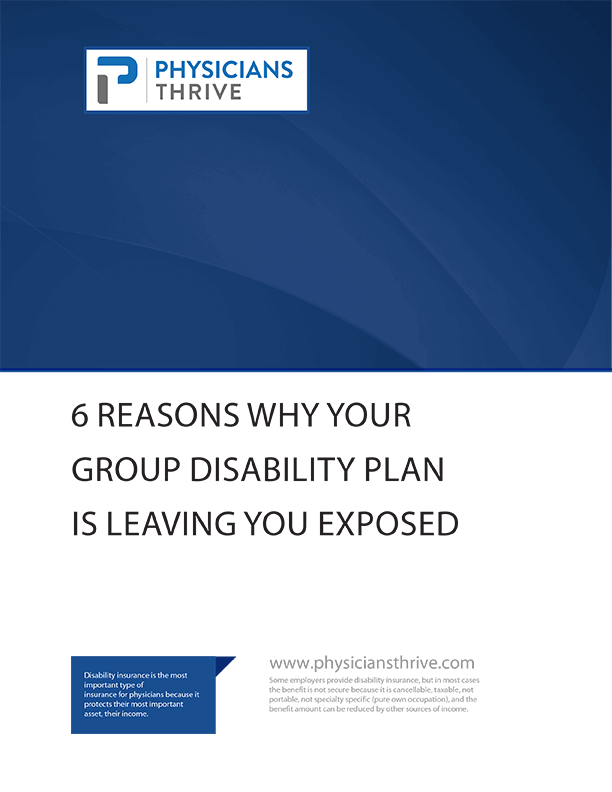 6 Reasons Why Your Group Disability Plan Is Leaving You Exposed PT 1