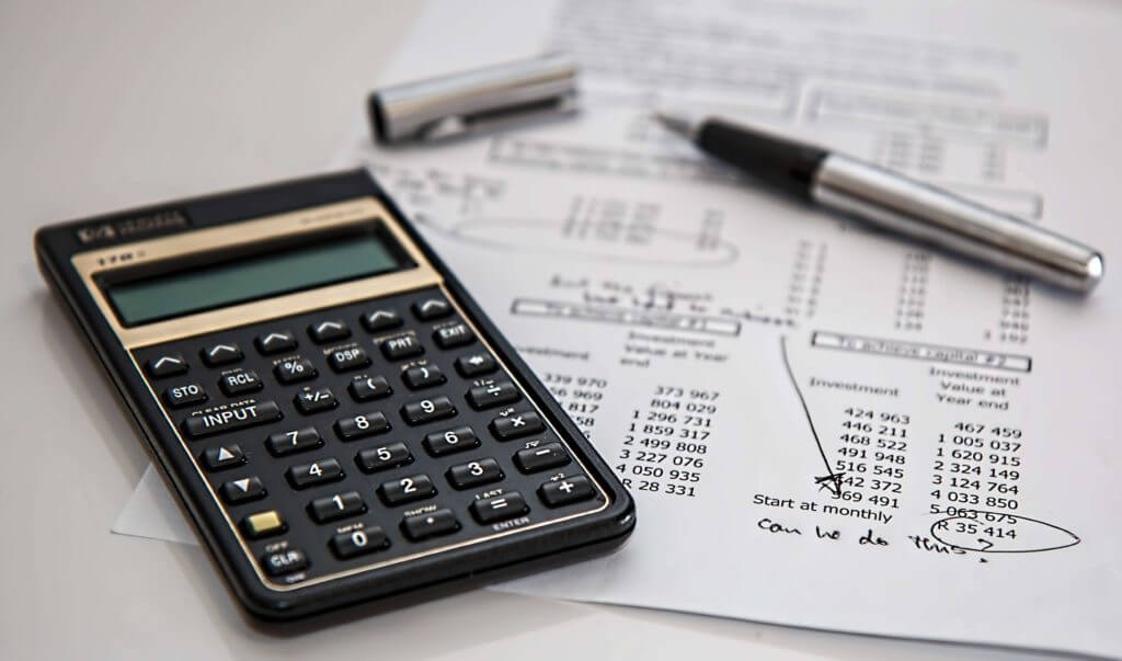 How a residual disability insurance rider is calculated