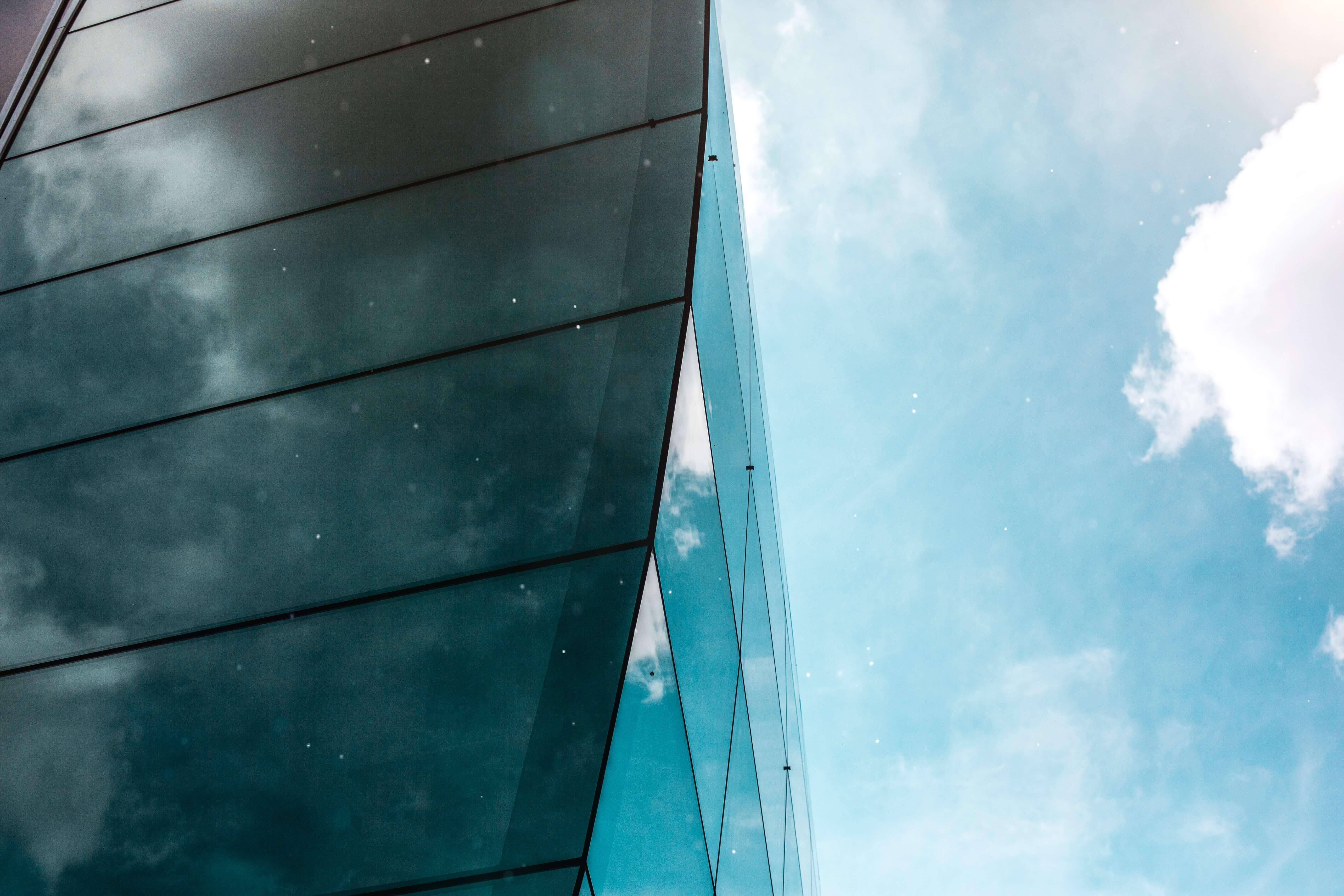 architectural design architecture blue skies 1243709