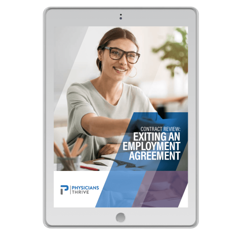 Exiting an Employment Agreement