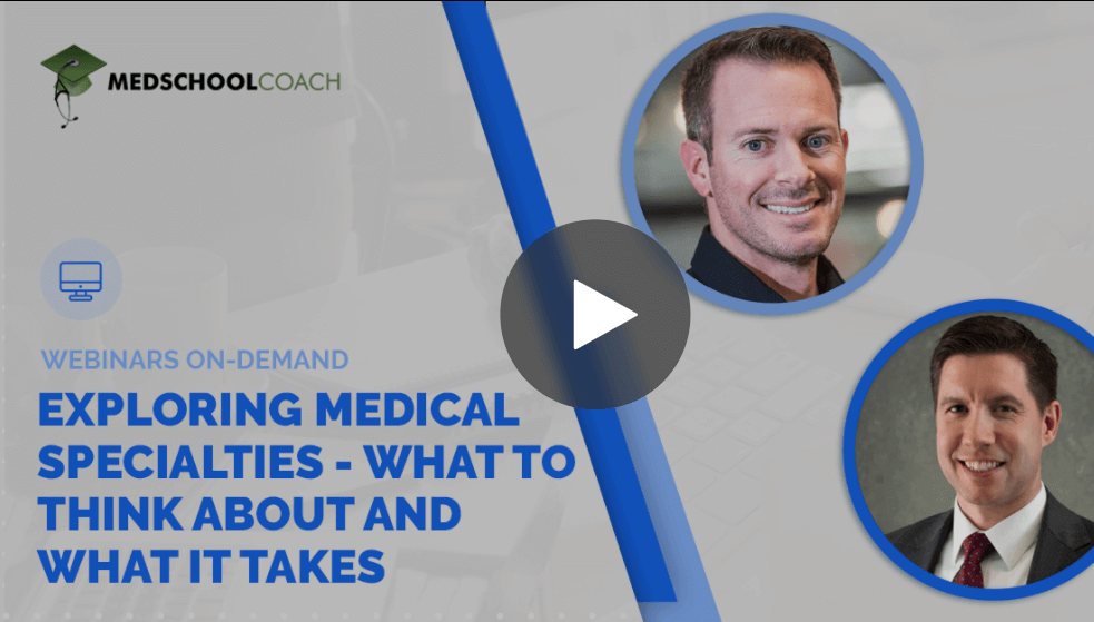 Webinar: Exploring Medical Specialties