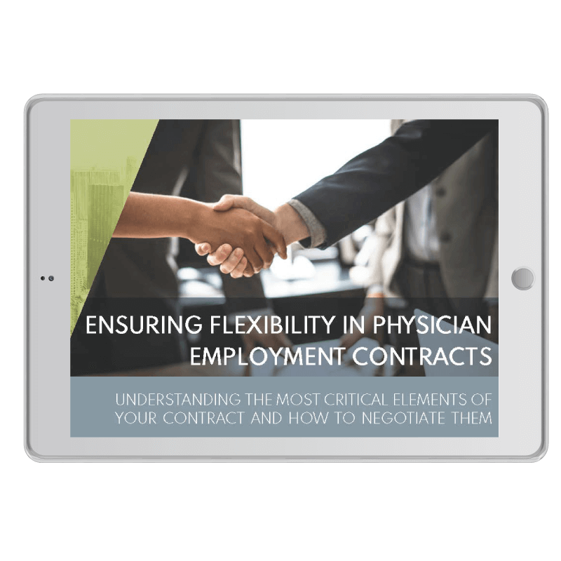 Ebook-Ensuring-Flexibility-in-Physician-Employment-Contracts